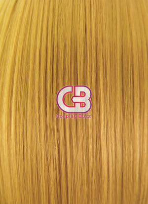 Kagerou Project Momo Kisaragi Short Yellow Mixed Black Anime Cosplay Wig MY241 - CosplayBuzz