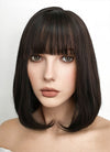 Medium Straight Brunette Bob Cosplay Wig NS077