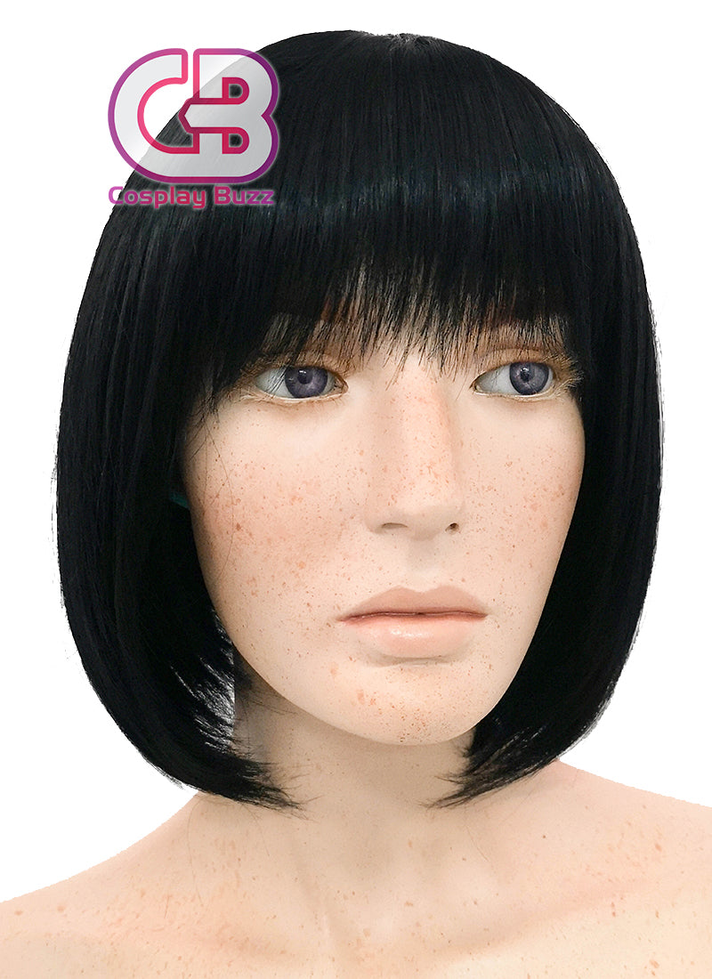 Short Straight Bob Black Cosplay Wig NW093 - CosplayBuzz