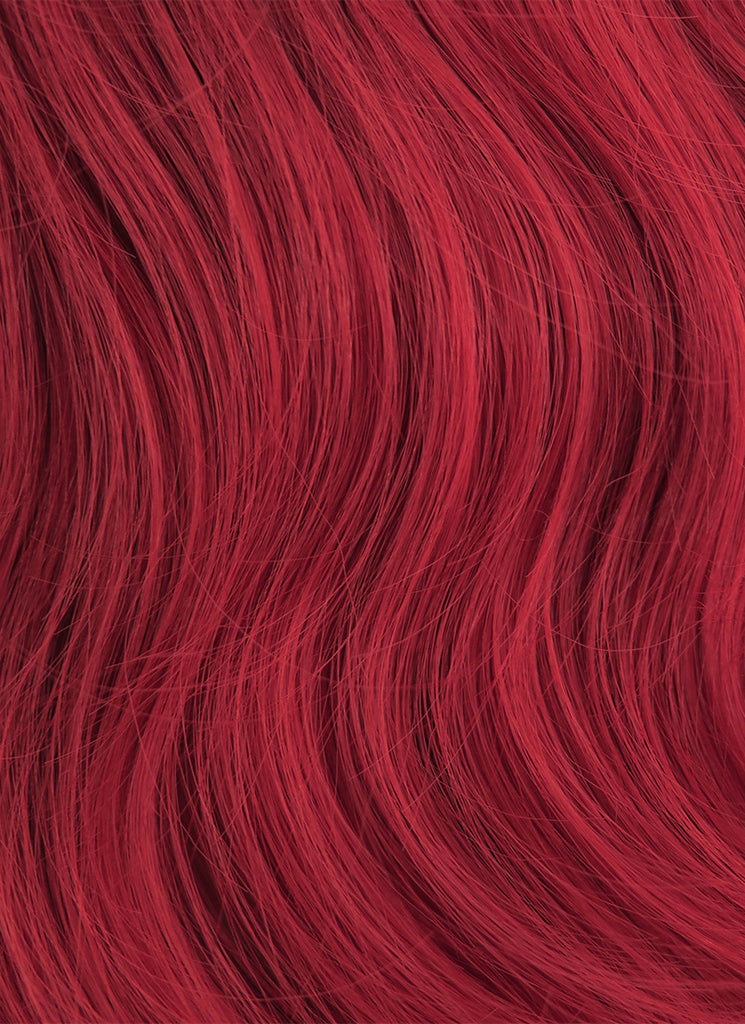 80CM Long Curly Red Cosplay Wig PL028 - CosplayBuzz