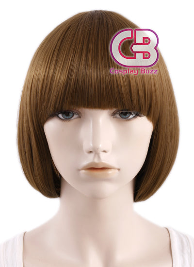 Kill LA Kill Mako Mankanshoku Short Straight Brown Anime Cosplay Wig PL399 - CosplayBuzz