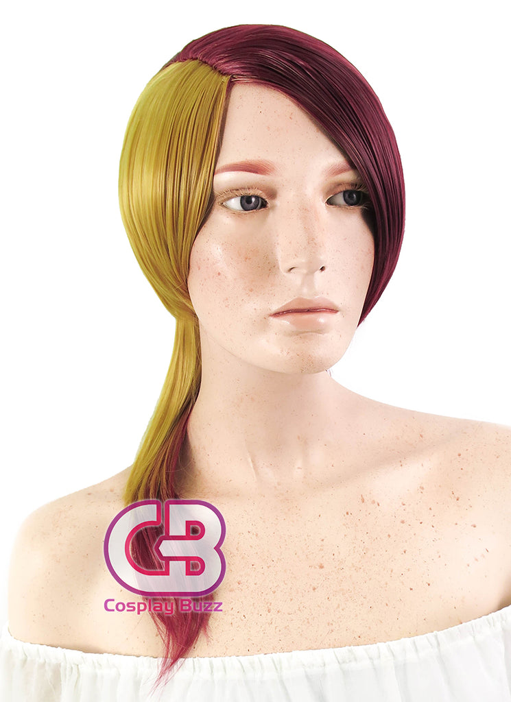 Land of the Lustrous Rutile Long Red And Blonde Anime Cosplay Wig PL503 - CosplayBuzz