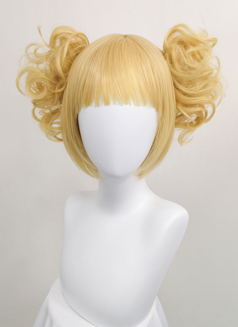 My Hero Academia Himiko Toga Short Blonde Anime Cosplay Wig PL510 - CosplayBuzz