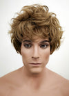 Short Wavy Golden Blonde Cosplay Wig TBZ1157 - CosplayBuzz