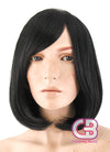 Medium Wavy Black Cosplay Wig TBZ873 - CosplayBuzz