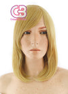 Medium Straight Yellow Blonde Cosplay Wig TBZ919 - CosplayBuzz