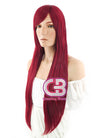 Long Straight Red Cosplay Wig TBZ951 - CosplayBuzz