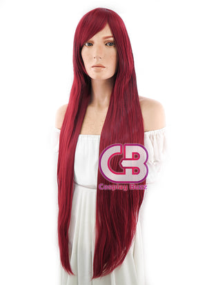 Long Straight Red Cosplay Wig TBZ953 - CosplayBuzz