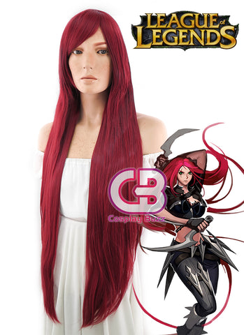Future Diary Yuno Gasai Long Straight Pink Anime Cosplay Wig PL501A