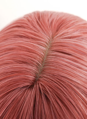 Short Straight Dirty Pink Bob Cosplay Wig TH024