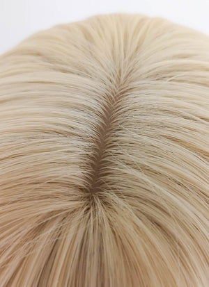 Short Straight Blonde Bob Cosplay Wig TH025