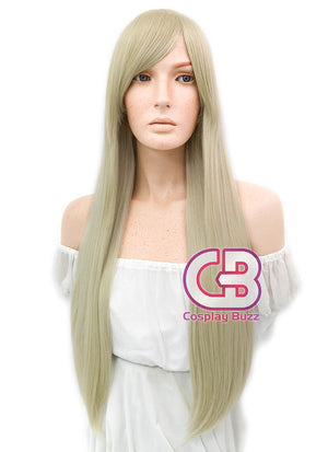 Long Straight Blonde Cosplay Wig WIG114 - CosplayBuzz