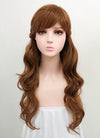 Disney Frozen II Anna Long Brown Cosplay Wig ZB238