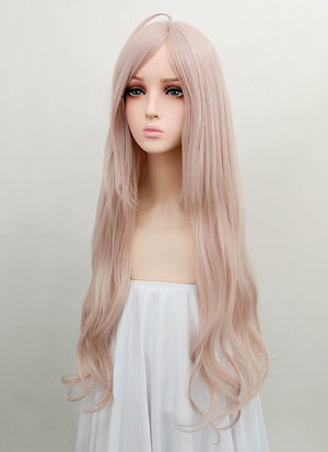 Danganronpa V3: Killing Harmony Iruma Miu Long Wavy Grey Pink Anime Cosplay Wig ZB239 - CosplayBuzz