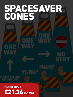 Road Cones - Protect Signs