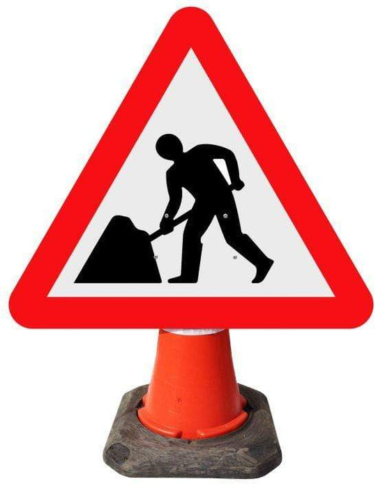 Triangle Cone Sign - Men at Work - 7001 (4298871013410)