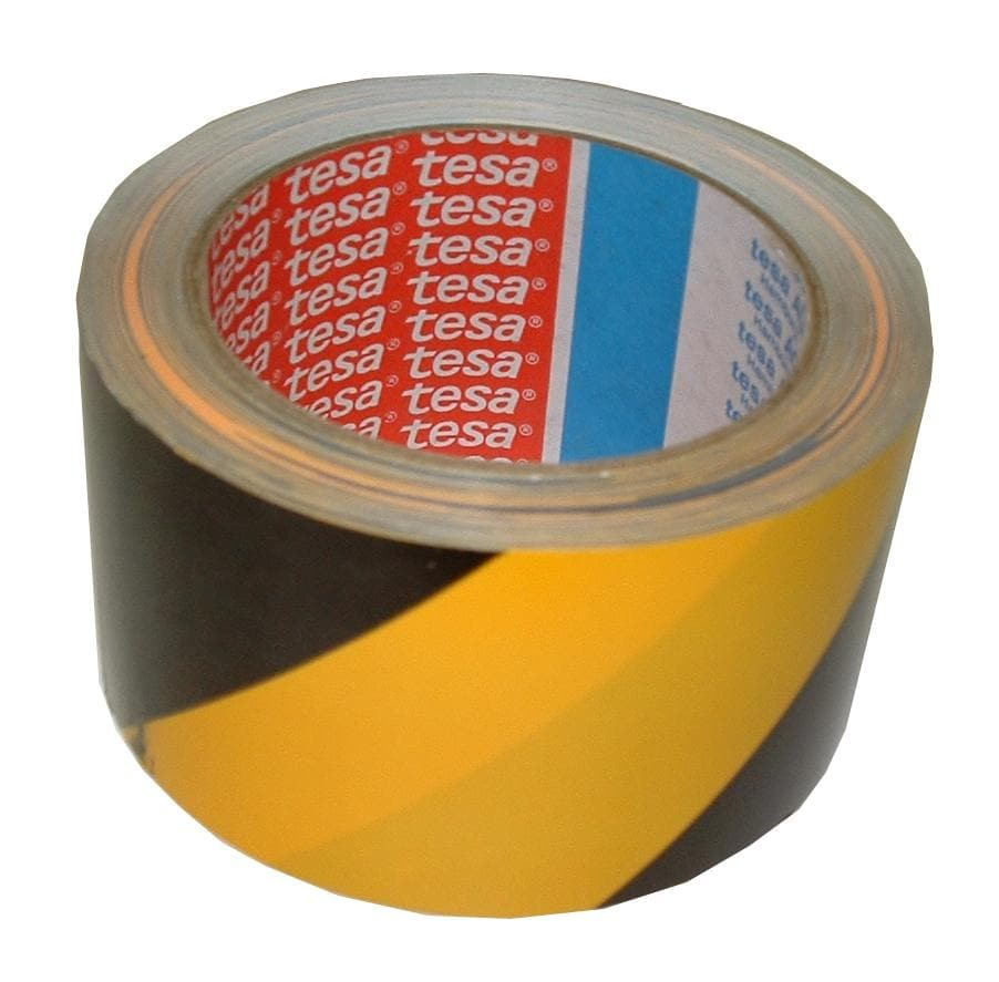 Black Yellow Non-Reflective Self-Adhesive Tape (3926344106018)