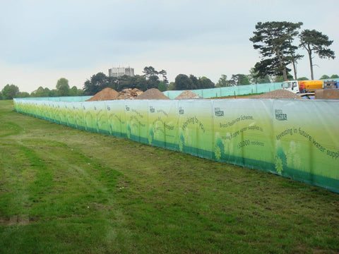 Site Fencing Mesh Banner 3.2m x 1.6m