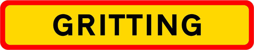 HGV Marker Board Gritting (4101187338274)