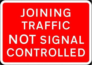 1050x750mm Joining Traffic Not Signal Controlled - 7022 (4138027319330)