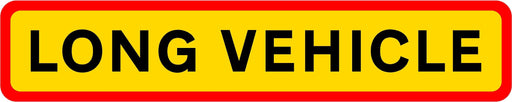 HGV Marker Board - Long Vehicle (4101171380258)