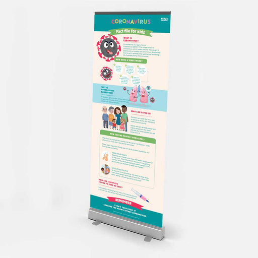 Pull Up Banner - Protect Signs
