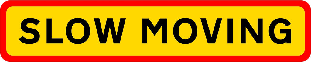 HGV Marker Board - Slow Moving (4101173542946)