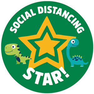 Social Distancing Reward Stickers - Box of 250