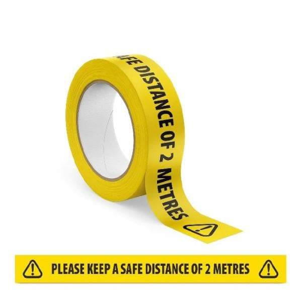 Social Distancing Marking Tape - Protect Signs