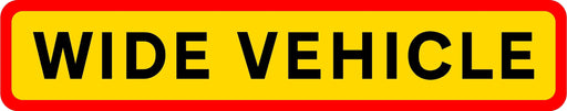 HGV Marker Board - Wide Vehicle (4101175902242)