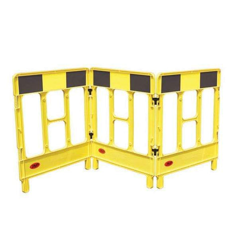 Workgate Barrier Yellow Black 3-Gate