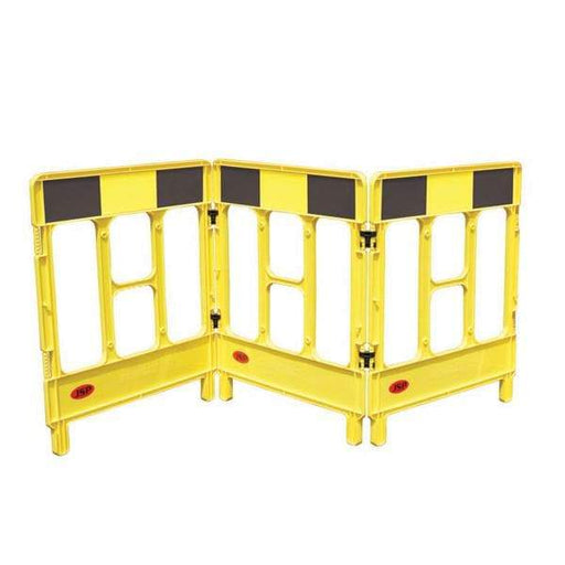 Workgate Barrier Yellow Black 3-Gate (3926402826274)