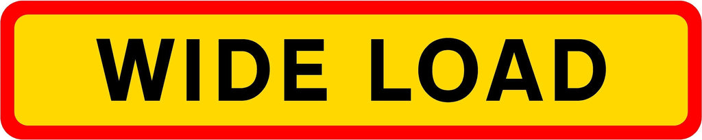 HGV Marker Board - Wide Load (4101170593826)