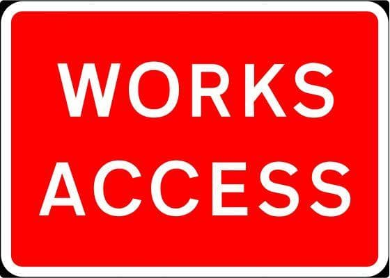 1050x750mm Works Access - 7301 - Rigid Plastic (4133170315298)