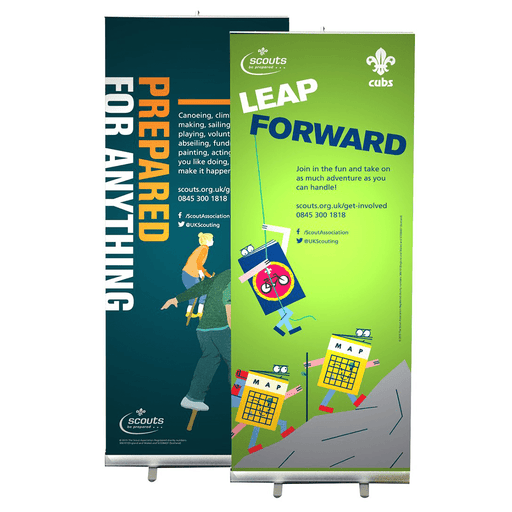 Portable Roll-up Display Banner 800mm x 2000mm - Protect Signs