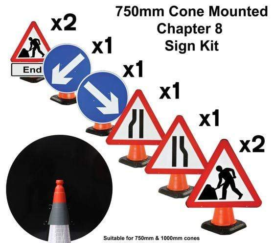 Chapter 8 Cone Mounted Sign Kit (4298869375010)