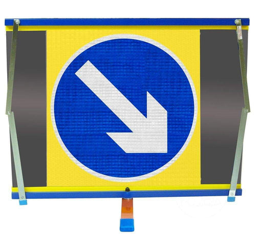 F2 Flexible Fold-Away Sign - Directional 610 Arrow - Protect Signs