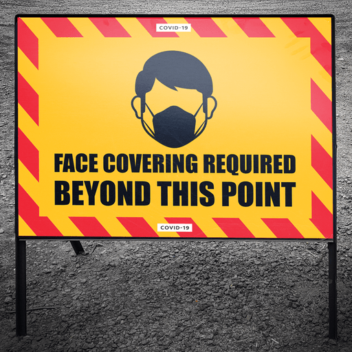 Face Covering Required - Protect Signs