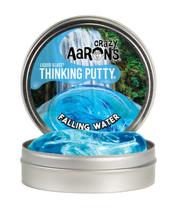 Crazy Aaron's Thinking Putty - Liquid Glass - Falling Water