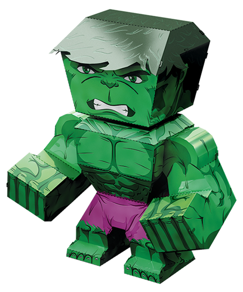 Metal Earth Legends Hulk