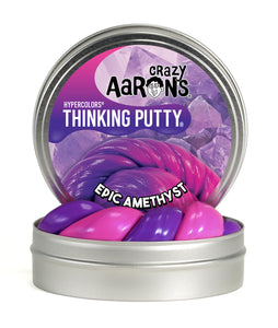 Crazy Aaron's Thinking Putty - Hypercolors - Epic Amethyst