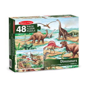 Dinosaurs Floor Puzzle - 48pc