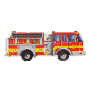 Giant Fire Truck Floor Puzzle - 24pc