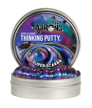 Load image into Gallery viewer, Crazy Aaron's Thinking Putty - Super Illusions - Super Scarab