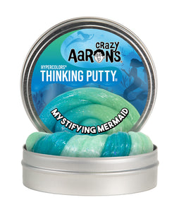 Crazy Aaron's Thinking Putty - Glowbrights - Mystifying Mermaid