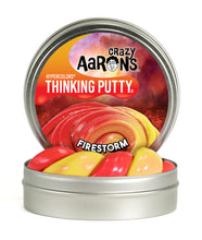 Load image into Gallery viewer, Crazy Aaron's Thinking Putty - Hypercolors - Fire Storm