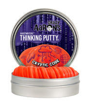 Load image into Gallery viewer, Crazy Aaron's Thinking Putty - Ghostwriters - Cryptic Code