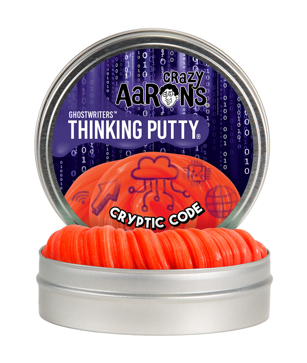 Crazy Aaron's Thinking Putty - Ghostwriters - Cryptic Code
