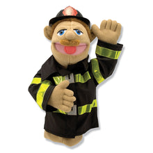 Load image into Gallery viewer, Firefighter Puppet