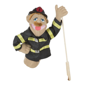 Firefighter Puppet